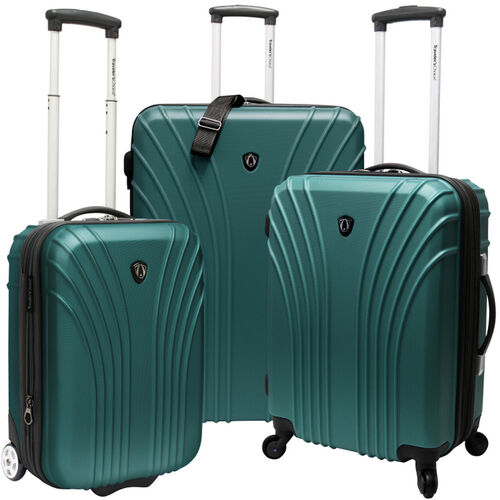 3-Piece Hardsided Ultra Lightweight Luggage Set